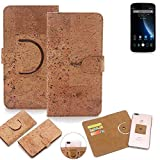 K-S-Trade 360° Cover cork Case for Doogee X6S | Smartphone