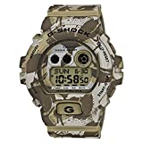 Casio - GD-X6900MC-5ER - G-Shock - Montre Homme - Quartz Digital - Cadran Camouflage Marron - Bracelet Résine