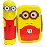 Kieana Tiffin For Kids, Lunch Boxes For Children, Minion Printed Designer Animated Tifin Box Specially Designed For School Going Boys And Girls (Pack Of 1)