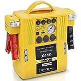 4in1 Powerstation, Pannenhilfe-Set, Starthilfe, Kompressor, 12V Batterie, Notleuchten Art. POWX410