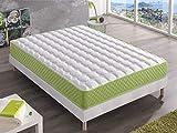 Bellavista Home Materasso Mallorca Memory Foam-Viscoelastico 90x190x20 cm. Hotel Comfort, Accoglienza Soft con fermezza,Terapeutico, Ortopedico Certificato Presidio Medico Classe I.