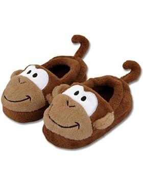 Stephen Joseph Bad Pantoffeln im Affe-Design Gr. L (29-30)