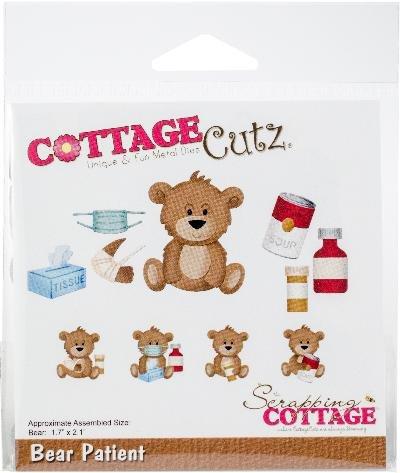 Cottage Cutz Die-Bear Patient, 1.7