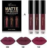 Covermason New Makeup Lip Lingerie Matte Liquid Lipstick Waterproof Lip Gloss