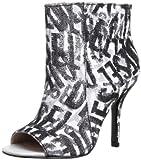 DIESEL Damen Schuhe Stiefeletten Rapture Women Pumps High Heels Weiss/Schwarz (38 EU / 7.5 USA)