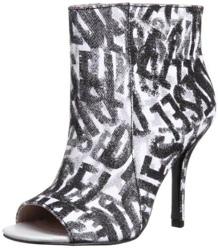 Diesel Damen Schuhe Stiefeletten Rapture Women Pumps High Heels Weiss/Schwarz (39 EU/8.5 USA)
