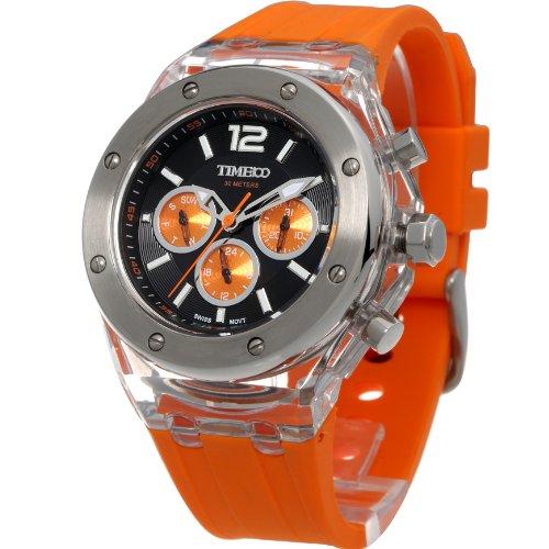 time-w70034g03a-reloj-para-hombres-correa-de-silicona-color-naranja