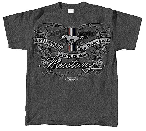 Ford Mustang Emblem T Shirt Officially Licensed