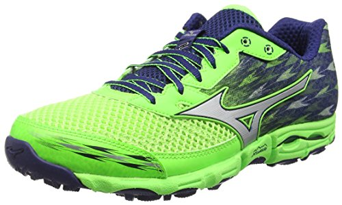 mizuno-wave-hayate-2-scarpe-da-corsa-uomo-colore-verde-green-gecko-silver-blue-depths-taglia-46-eu-1