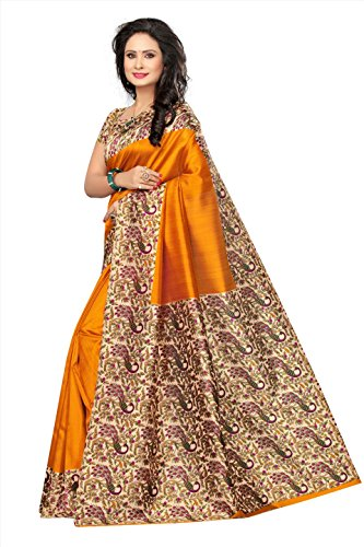 Buy Winza Designer Silk Saree With Blouse Piece Online At