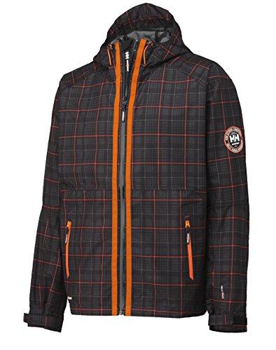 Helly Hansen Workwear Hochfunktionsjacke Tech Brussels Jacket W Check wind und wasserdicht, hoch atmungsaktiv M, orange, 34-071041-999-M (Schwarz-check-fleece-jacke)