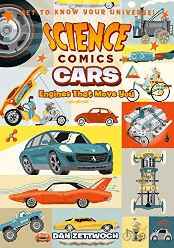 Science Comics: Cars por Dan Zettwoch