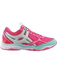 Spectra V1 Enfants - Chaussures de Netball - Rose/Menthe