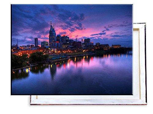Unified Distribution Nashville USA - 80x60 cm - Bilder & Kunstdrucke fertig auf Leinwand aufgespannt und in erstklassiger Druckqualität