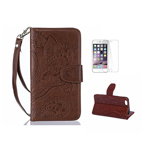 Fatcatparadise, Borsa a spalla uomo Coffee iPhone 6 Plus/6S Plus Coffee