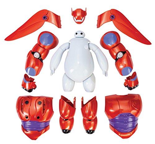 Big Hero 6 - Action figure di Baymax con armatura