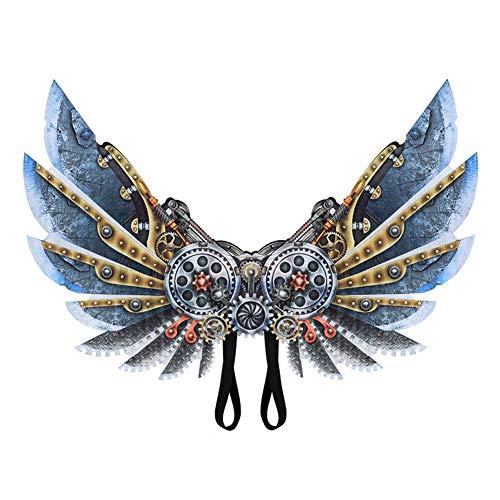 Kostüm Punk Themen - Adore store Unisex Mechanische Punk Flügel Halloween-Thema-Partei-Kostüm Cosplay Flügel Kostüm Zubehör für Erwachsene 1pc