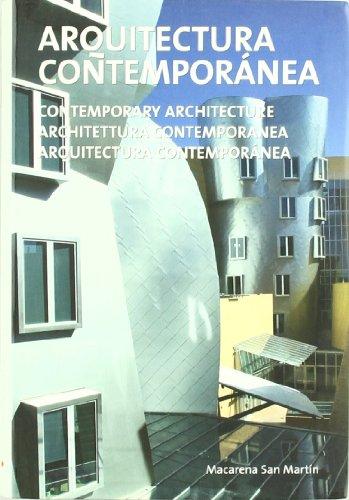 Descargar Libro Libro Arquitectura Contemporanea de Macarena San Martin