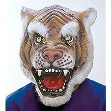 Goma Máscara Máscara Máscara Tiger Tiger León León Wild gato animales Máscara gato Depredadores de carnaval