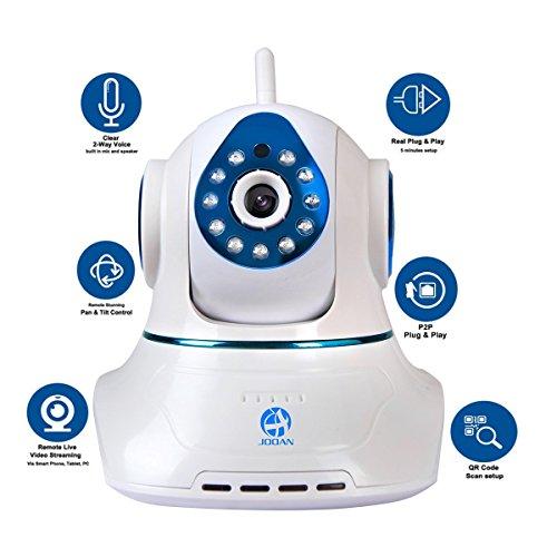 JOOAN 770 HD 720P Wireless IP Network Camera Pan/Tilt Video Monitoring Home Security Surveillance - Updated Version