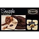 Scruffs Pet Dog Snuggle Comfort Blanket Duvet Reversible Design In 3 Colours (Chocolate)