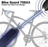 Funk – Alarmanlage gegen Diebstahl !!! Fahrrad Diebstahlschutz Alarm Alarmanlage Schloss Sicherheit Zusatz - 2