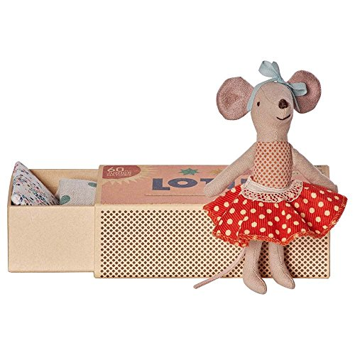 maileg-big-sister-matchbox-mouse-red-polka-dot-skirt-2016-boxed-with-bedding