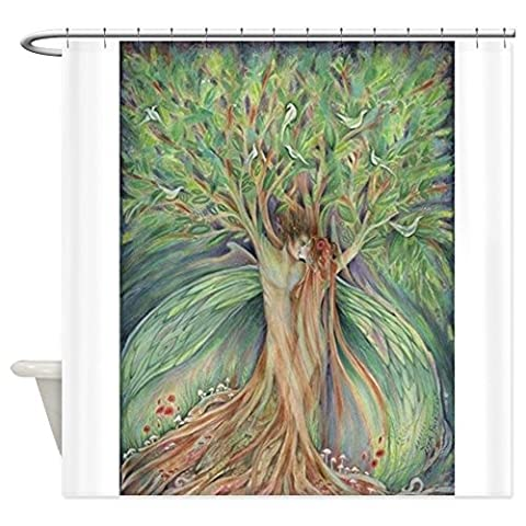 Tree Spirits tree lovers Shower Curtain - Decorative Fabric Shower Curtain