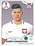 World Cup Aufkleber Russland 2018Panini 609Robert Lewandowski Polen Fußball Aufkleber