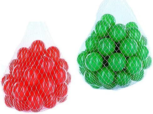 Balles Balles Balles balles pour salle de bain mixtes Mix avec Vert et Rouge | Dernière Arrivée  3a0c0c