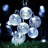 OxyLED Solar String Lights, 30 LED Garden Patio Outside Solar String Light,Waterproof Indoor/Outdoor