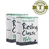 2 x Weißwein Bag in Box Pfalz Riesling trocken, 3,0 Liter - VERSANDKOSTENFREI -