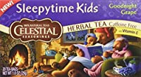 CELESTIAL SEASONINGS HERB TEA,SLPYTIME,KDS,GRP, 20 BAG