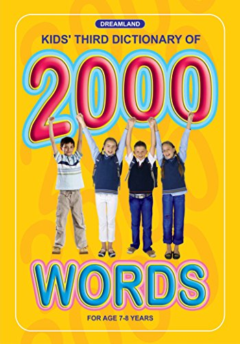 Kids Third  Dictionary of 2000 words (English Edition)