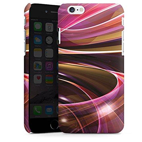 Apple iPhone X Silikon Hülle Case Schutzhülle Wirbel Strudel Muster Premium Case matt