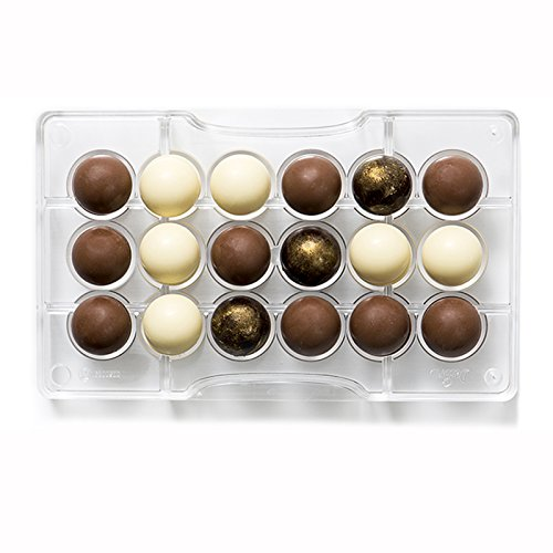 Decora 0050089 Molde para Chocolate HEMISFERIO Ø 25-200X120X22MM