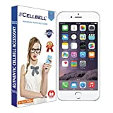 Cellbell BTMBAG1003 3D Premium Tempered Glass Screen Protector for Apple Iphone 6 6s (4.7 inch ONLY)Complimentary Prep cloth
