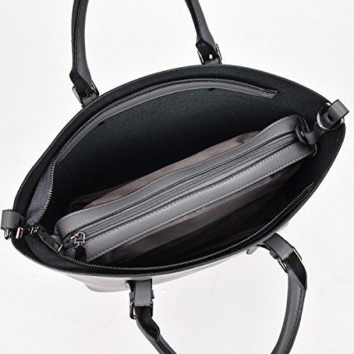 Delle Donne Borse In Pelle Di Spalla Delle Signore Sacchetto Impermeabile Tote Bags Beige