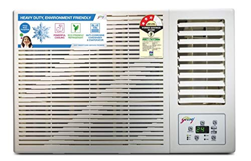 Godrej 1 Ton 3 Star Window AC (Copper, AC 1T GWC 12DTC3-WSA 3S, White)