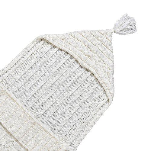Dorapocket Neugeborene Strickjacke Schlafsack Sack Baby Wrap Swaddle Decke,Lila