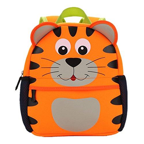 Imagen de yeelan bolsa de escuela impermeable /  para niños tigre  alternativa