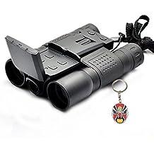 """Boblov 2""""color Protector de HD 720P Grabación de vídeo 12x 32Cámara Digital Prismáticos caza con una ópera de Pekín Llavero"""