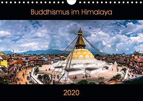 Buddhismus im Himalaya (Wandkalender 2020 DIN A4 quer): Buddhistische Bilderreise (Monatskalender, 14 Seiten ) (CALVENDO Glaube)