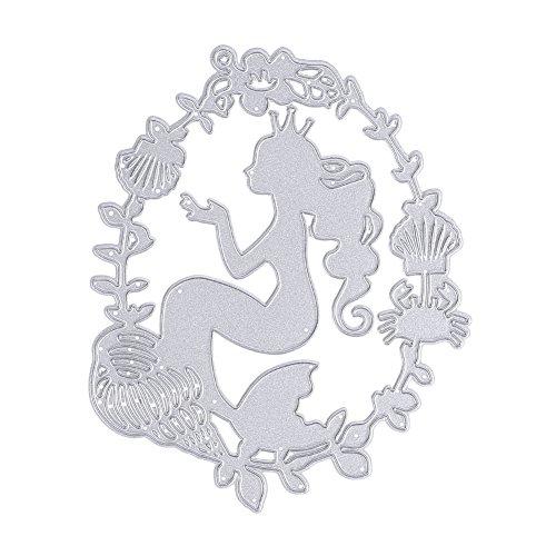 it DIY Metall Präge Stanzformen Schablone Handwerk für Album Dekor Scrapbook Dekorative Ordner (Dekorative Ordner)