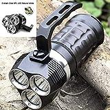 Sofirn SD01 Professionelle Tauch-Taschenlampe Cree XPL 3000LM LED Licht Unterwasser-Suchlicht 18650 Leistungsstarke LED Taschenlampe