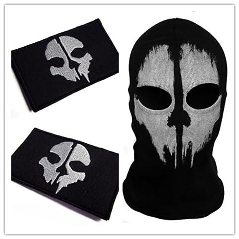 Call of Duty 10 : Ghosts Skull Mask Balaclava Hood (B07)
