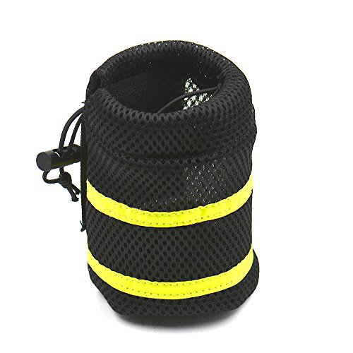 Easylifer Einstellbare Hundegeschirr Leine Hands Free Pet Blei-Leine-Gürtel zum Joggen, Wandern, Rad fahren, Wandern usw. mit Wasserflaschenhalter und Tasche Leine (Green) -