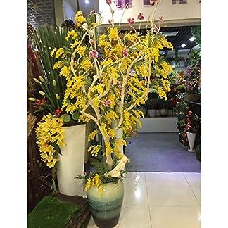 Artificial & Dried Flowers – Bundles Bouquet Plastic Gift Home Acacia Bean Branch Durable Fake Decorations Desktop Romantic – Flowers Dried Artificial