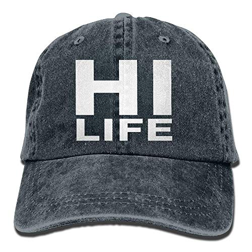 Hi Life Polo Style Classic Baseball Dad Hat for Women and Men - Theme Tennis Polo