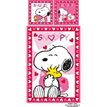Peanuts Funda Nórdica Snoopy Love (200 x 135 cm) Belltex